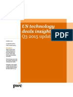 PwC Technology Deals Insights Q3 2015