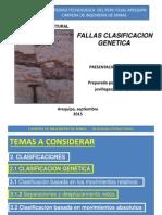FALLAS CLASIFICACION GENETICA