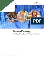 Demand Sensing in Supply Chain