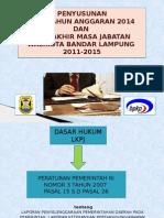 Powerpoint-Penyusunan LKPJ berdasarkan PP nomor 3 Th 2007