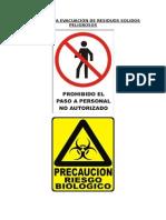 SEÑALES PARA EVACUACIÓN DE RESIDUOS SOLIDOS PELIGROSOS.docx