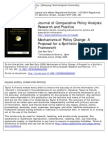 Real-Dato 2009 Mechanism of Policy Change