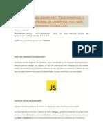 Tipos de Datos en JavaScript.