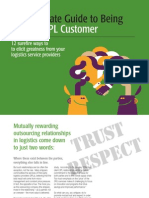 Guide to Being Great 3PL Customer