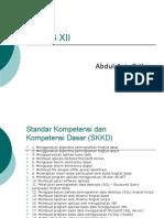 Algoritma RPL 2 Kelas XII