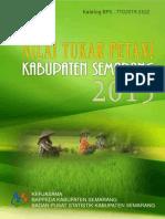 Nilai Tukar Petani Kabupaten Semarang 2013