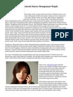 Alasan Mengapa Seniwati Korea Mempunyai Wajah Menawan