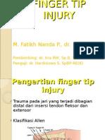Finger Tip Injury