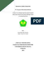 Proposal Kerja Praktek Di Ecogreen Oleochemicals Batam_F