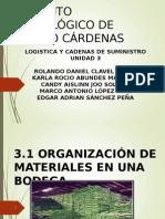 UNIDAD 3.- Organizacion de Materiales en Una Bodega