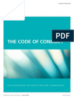 nsw det code of conduct