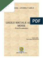 Legile sociale antice ale lui Moise din 'Deuteronom'  - Eseu Documentar (DOC)/  2011