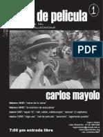 Entrevista con Carlos Mayolo