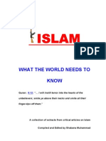 Islam what the world need to know
