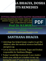 Santhana Bhagya Dosha and Its Remedies