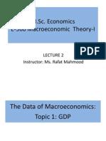 Macroeconomics I- Lec2
