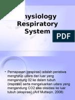 Fisiologi Respiratori Sistem