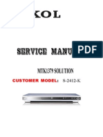 Service Manual S-2412-K (S-2312-K) of SOKOL