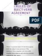 23 Rules of Subject-Verb Agreement