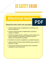 Electrical Isolation