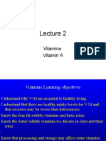 Vitamins Lecture 2 for 1st year MBBS by Dr Sadia Haroon