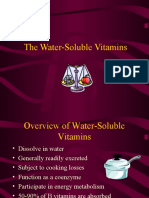 Water Soluble Vitamins Lecture for 1st year MBBS by Dr Sadia Haroon