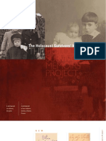 Holocaust survivors memoirs