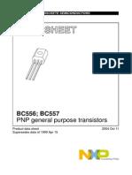 BC556 Datasheet