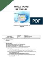 Manual Aplikasi Sep v 3.0.