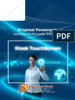 Proposal Penawaran Kiosk Touchscreen.