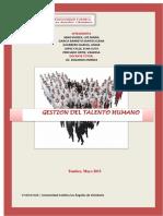 Monografia Gestion Talento Humano - Uladech
