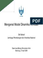 Mengenal Model Dinamika Atmosfer