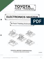 Toyota Service Training - Electronics Master
