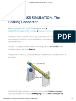 Solidworks Simulation_ the Bearing Connector