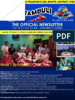 """Issue No. 17 Volume 1 """" OCTOBER—ECONOMIC AND COMMUNITY DEVELOPMENT MONTH""""  October 22, 2015"""