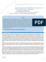 Relationship of Sleep Quality and Copetitve Anxiety in a Sample of Swimming Athletes (2)