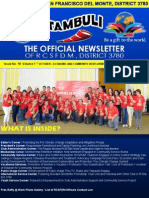 "Issue No. 18  Volume 1 "" OCTOBER—ECONOMIC AND COMMUNITY DEVELOPMENT MONTH""  October 29, 2015"
