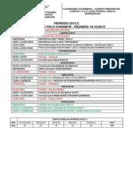 Calendario 2015-2 Dos Campus i, II e III -Aprovado Pelo Consepe 14-10-2015