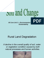 soil and change