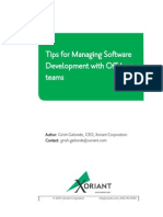 Tips for Managing Software Development