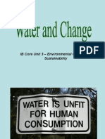 water and change
