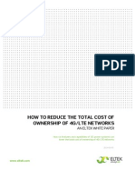 How to Reduce Total Cost of Ownership of 4G-LTE Networks v1 1 L