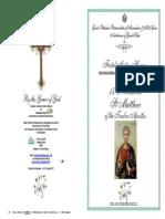 2015 -16 Nov -St Matthew of the 12 Apostles - Festal Hymns
