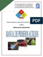 Manual de Primeros  - GREQE IPN