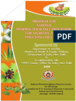 Pharmacovigilance Protocol for Asu Drugs