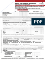 Icici Lombard Health Care Insurance Claim Form