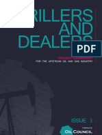 The Oil Council's 'Drillers and Dealers' Magazine - March 2010 Issue
