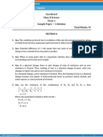 GOA-Science Sample Paper-1-SOLUTION-Class 10 Question Paper (SA-I)