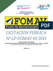Pliego de Bases y Condiciones - Final 29-04-2015