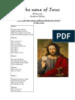 Call the Name of Jesus - Full Score